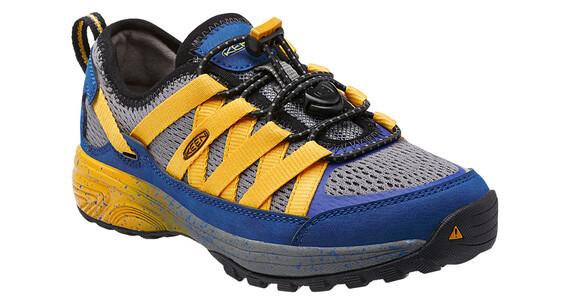 Keen Versatrail Shoes Children true blue/keen yellow